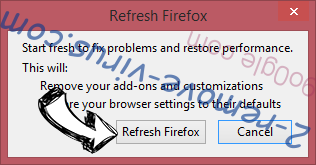 Newstartsearch.com Firefox reset confirm
