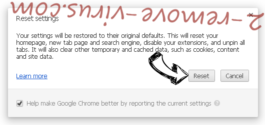 Smart Defragmenter Chrome reset