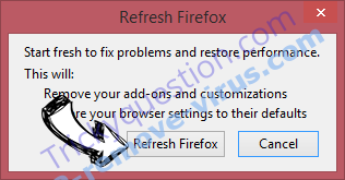 Ads By Tortuga Firefox reset confirm