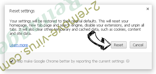 Reimage Chrome reset