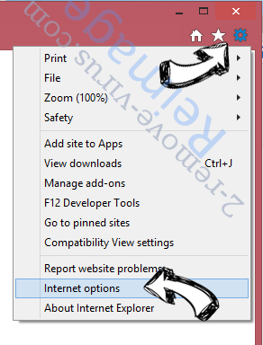 StudyHQ Toolbar IE options