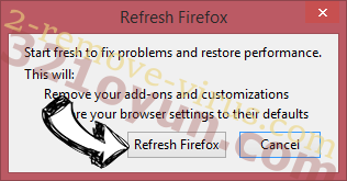 Fake Google Security Warning Firefox reset confirm