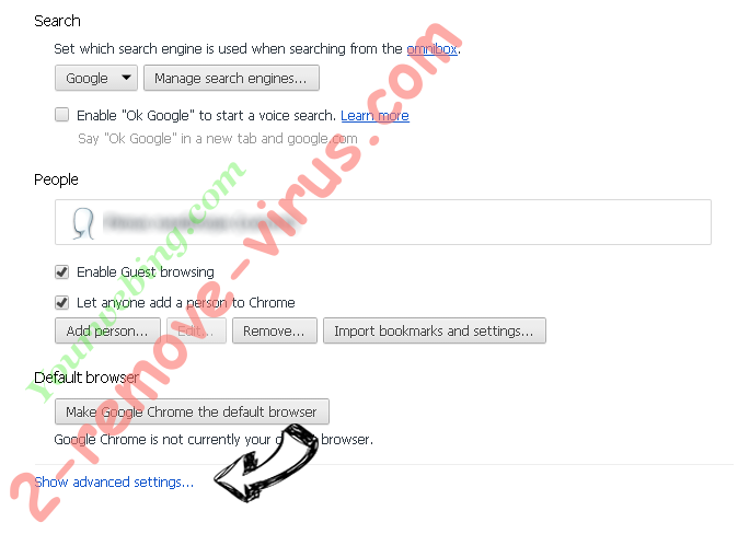 VideoConvert Toolbar Chrome settings more