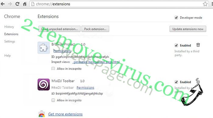 Search.awesomesearch.online Chrome extensions remove