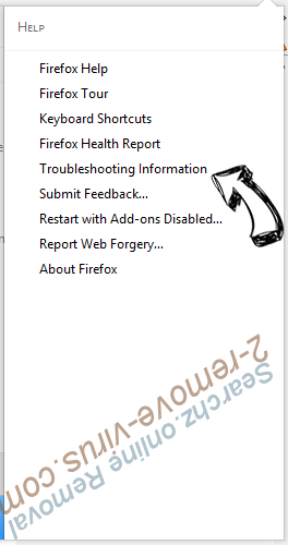 Searchz.online Firefox troubleshooting