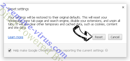 Sheeners Chrome Extension entfernen Chrome reset