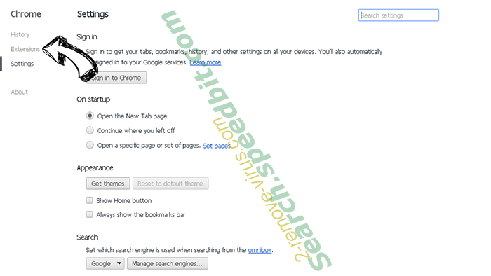 WorldofNotes Toolbar Chrome settings