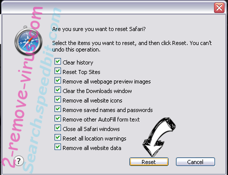 WorldofNotes Toolbar Safari reset