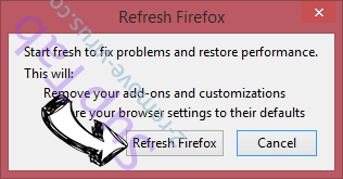 Yahoo Redirect Virus Firefox reset confirm