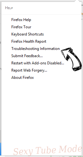 Sexy Tube Mode Firefox troubleshooting