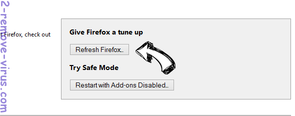 Home.searchfreerecipes.com Firefox reset