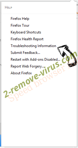 Search.shouxiaoti.info Firefox troubleshooting