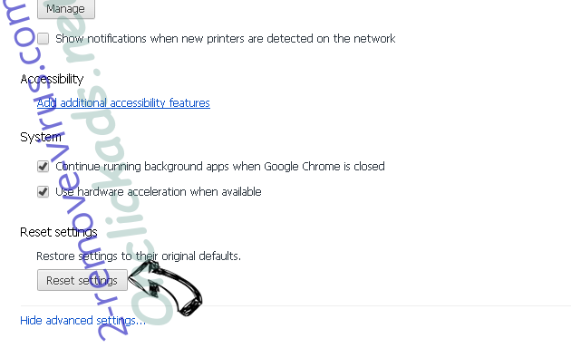 Topsnote.ru Chrome advanced menu