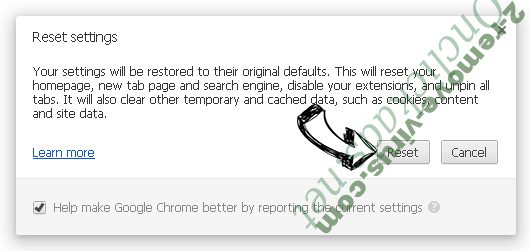 Login Your Email Virus Chrome reset