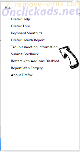 Search.Youremailaccounts.com Firefox troubleshooting