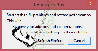 Yourlifesecured.com Ads Firefox reset confirm