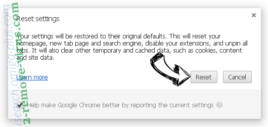 Conduit virus Chrome reset