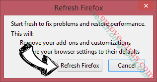 Majestic Coupons Firefox reset confirm