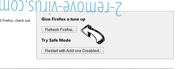 High Stairs Ads Firefox reset