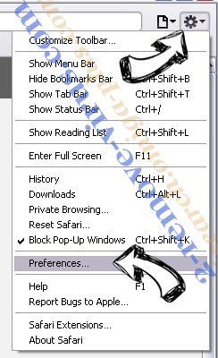 PlayThru Player Safari menu