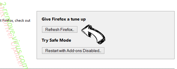 Active Coupon Ads Firefox reset
