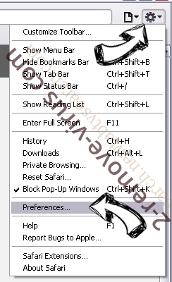 Search.mygamesxp.com Safari menu