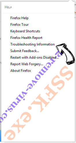 WebSearcher.eu Firefox troubleshooting