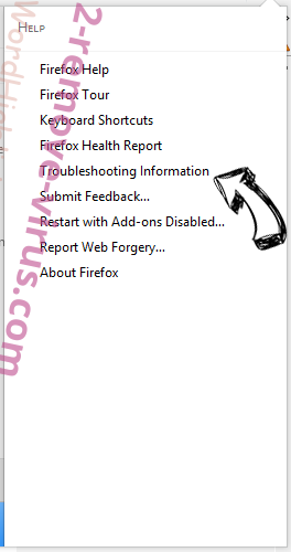 Search.Chunckapp.com Firefox troubleshooting