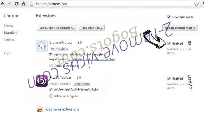 Webalta.ru - wie entfernen? Chrome extensions disable