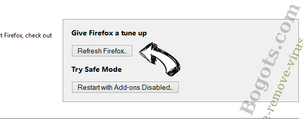 Search.bitcro.com Firefox reset