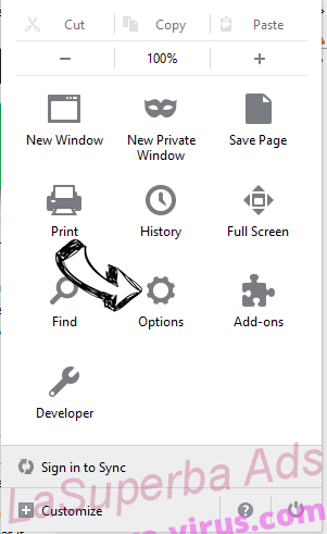Recipes By inMind New Tab Firefox reset confirm