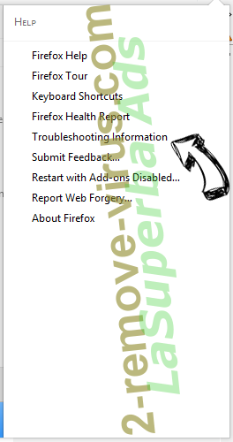 LaSuperba Ads Firefox troubleshooting