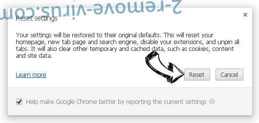 Webssearches.com Chrome reset