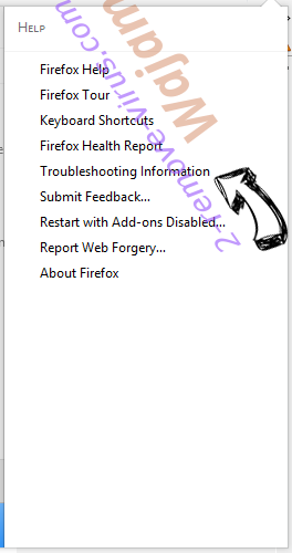 Safesearch.top Firefox troubleshooting