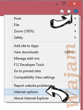 MyImageConverter Toolbar IE gear