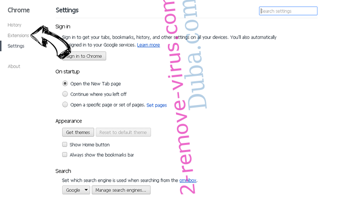 Download Boss verwijderen Chrome settings