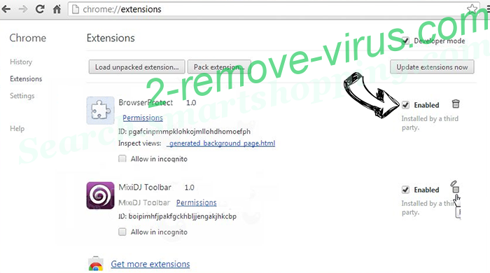 Clean My Chrome Virus Chrome extensions disable
