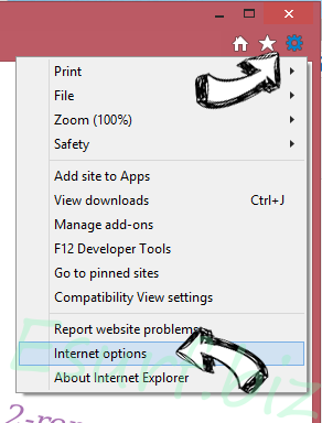 FunPopularGames Toolbar IE options