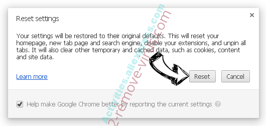 Searchatomic.com Chrome reset