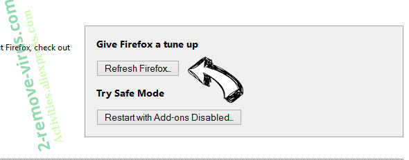 Mydailysearch.com Redirect Firefox reset