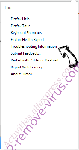 Mydailysearch.com Redirect Firefox troubleshooting