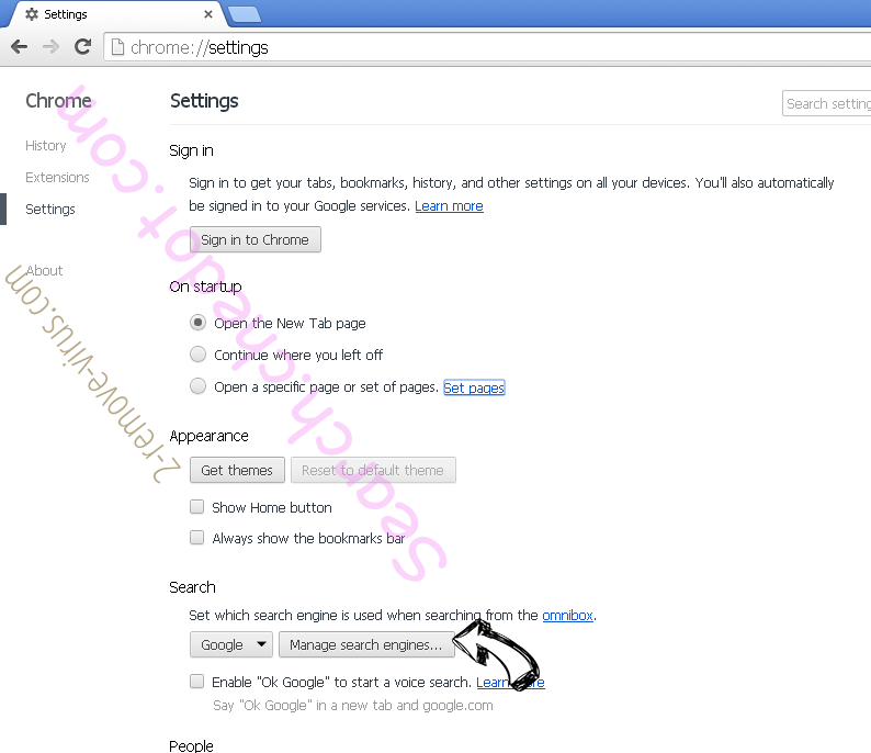 Blankpage6.ru Chrome extensions disable