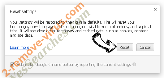 LearnTheLyrics Toolbar Chrome reset