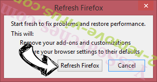 Cleanervirus.club Firefox reset confirm