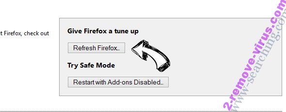 My Lucky Search Firefox reset