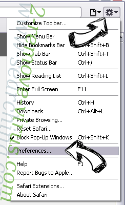 CrazyForCrafts Toolbar Safari menu