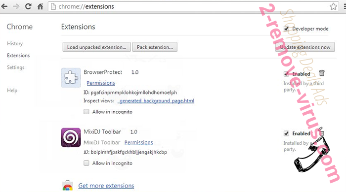 Product Key Has Expired Scam Chrome extensions remove