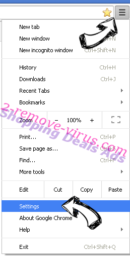 Groover Ads Chrome menu
