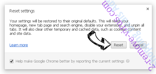 Setli Ads Chrome reset