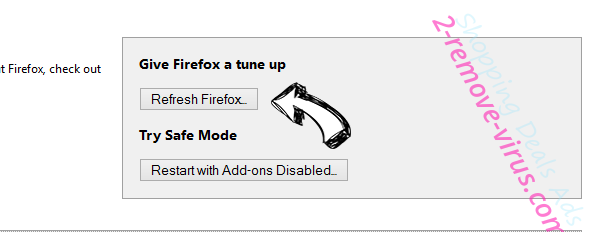 Great Find Ads Firefox reset